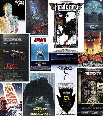 Cartazes de Filmes de Terror